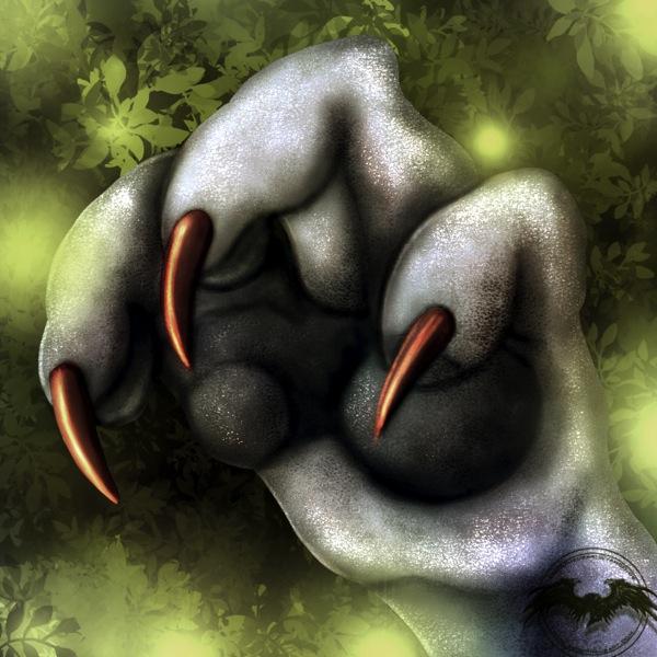 SevenKalmia paw